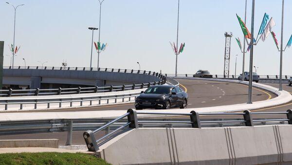 Эстакада через ташкентскую кольцевую автодорогу - Sputnik Узбекистан