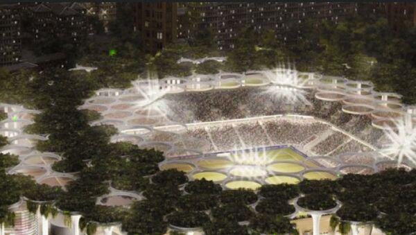 Plan stroitelstva novogo stadiona Paxtakor so vsey prilegayuщey infrastrukturoy - Sputnik Oʻzbekiston