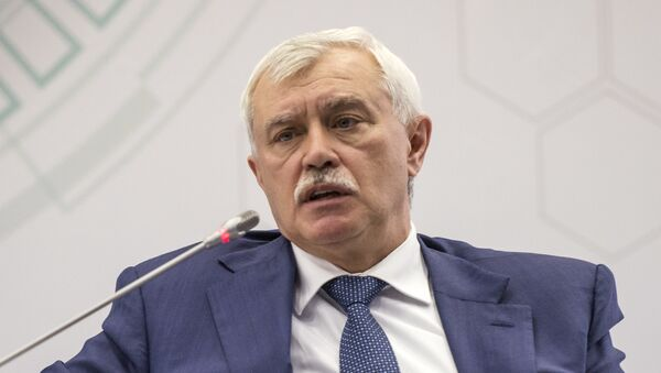 Губернатор Санкт-Петербурга Георгий Полтавченко - Sputnik Узбекистан