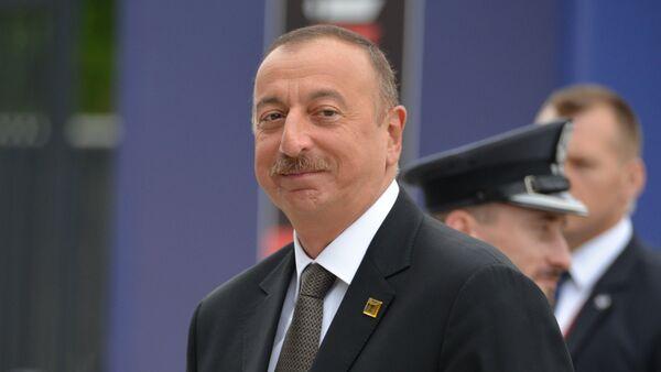 Президент Азербайджана Ильхам Алиев, фото из архива - Sputnik Ўзбекистон