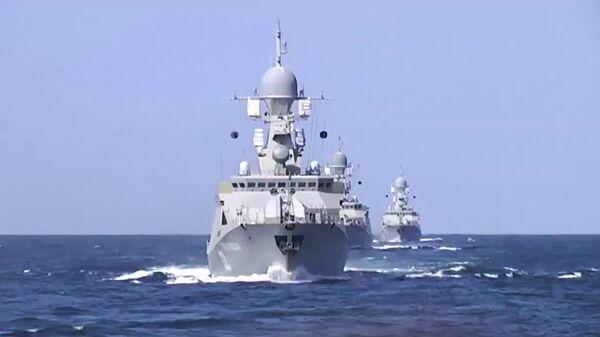 Kaspiy floti kemalari - Sputnik Oʻzbekiston