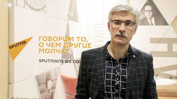 Pisatel Fedor Razzakov - Sputnik Oʻzbekiston