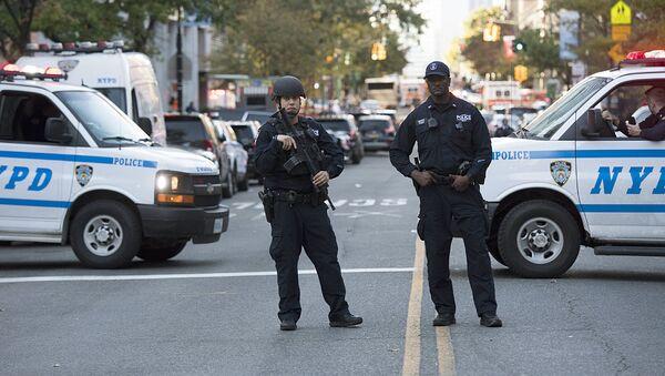 Нью Йорк полицияси - Sputnik Ўзбекистон