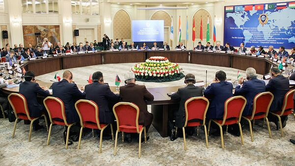Заседание комиссии РАТС ШОС в Ташкенте - Sputnik Ўзбекистон