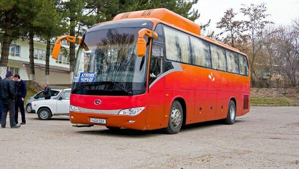 Avtobus Tashkent-Charvak - Sputnik Oʻzbekiston