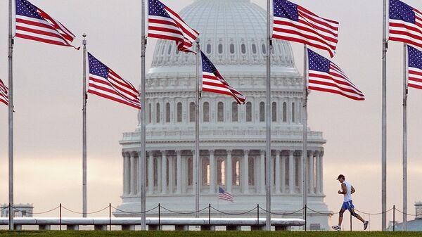Флаги США - Sputnik Узбекистан