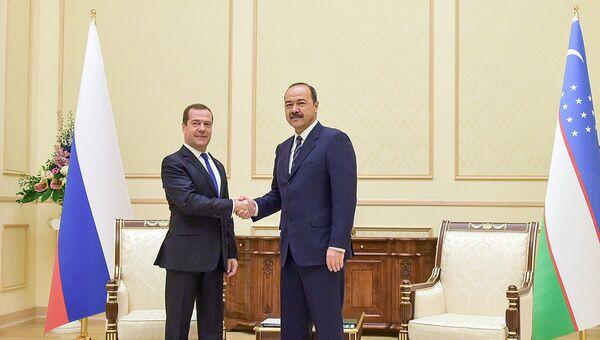 Ofitsialnыy vizit premyer-ministra RF D. Medvedeva v Uzbekistan - Sputnik Oʻzbekiston