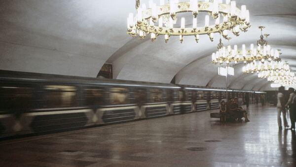 Vestibyul stantsii Chilanzar Tashkentskogo metropolitena - Sputnik Oʻzbekiston