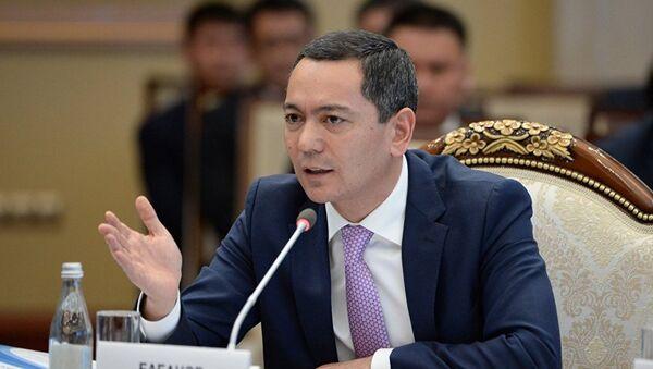 Omurbek Babanov - Sputnik Oʻzbekiston