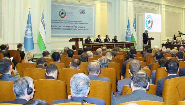 Konferentsiya po obespecheniyu bezopasnosti i ustoychivogo razvitiya v Tsentralnoy Azii - Sputnik Oʻzbekiston