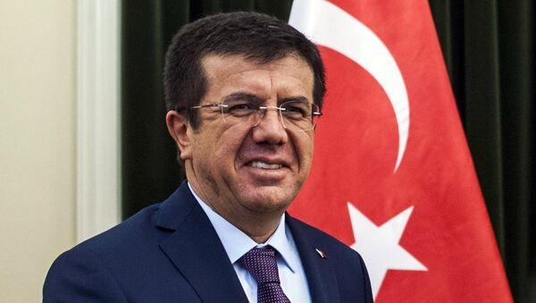 Министр экономики Турции Нихат Зейбекчи - Sputnik Ўзбекистон