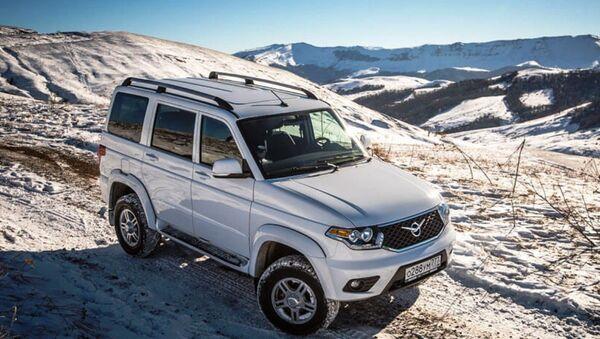 Инкассаторы Узбекистана получили новые автомобили УАЗ - Sputnik Ўзбекистон