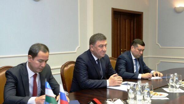 Владимир Колокольцев и Пулат Бобожонов обсудили вопросы сотрудничества - Sputnik Узбекистан