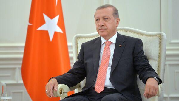 Туркия президенти Ражап Тоййиб Эрдўғон - Sputnik Ўзбекистон