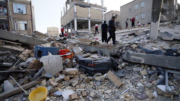 Землетрясение в Иране - Sputnik Ўзбекистон