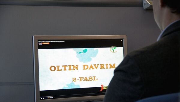 Просмотр сериала Oltin Davrim  - Sputnik Узбекистан