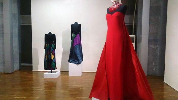 Выставка Итальянской моде - 60 лет в Ташкенте - Sputnik Узбекистан
