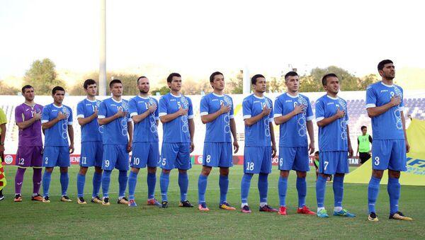 Сборная Узбекистана по футболу в товарищеском матче с командой ОАЭ - Sputnik Ўзбекистон
