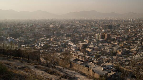 Вид на город Кабул в Афганистане - Sputnik Узбекистан