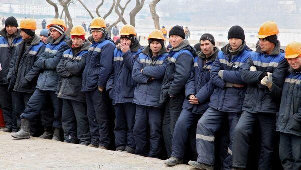 Иностранные рабочие - Sputnik Узбекистан