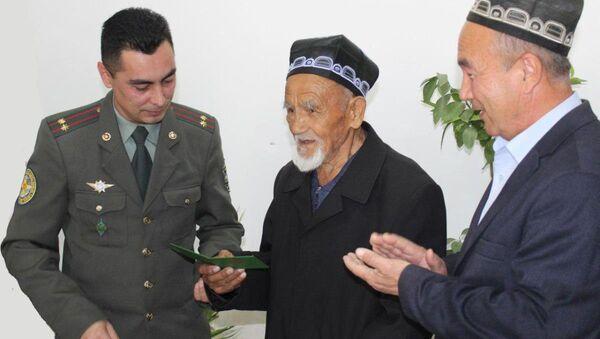 Потерявший документ ветеран войны получил его после 57 лет - Sputnik Узбекистан