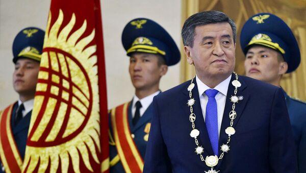 Сооронбай Жээнбеков официально вступил в должность главы Кыргызстана - Sputnik Ўзбекистон
