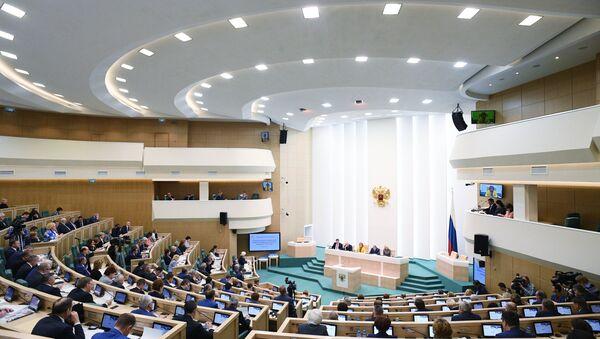 Парламентские слушания в Совете Федерации РФ - Sputnik Узбекистан
