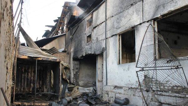 В Намангане произошел пожар - Sputnik Ўзбекистон