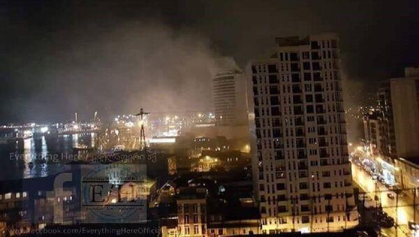 Пожар в батумской гостинице Лео Гранд - Sputnik Узбекистан