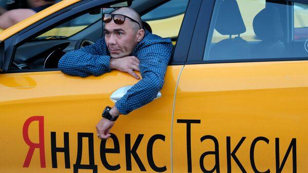 Работа такси в Москве - Sputnik Ўзбекистон