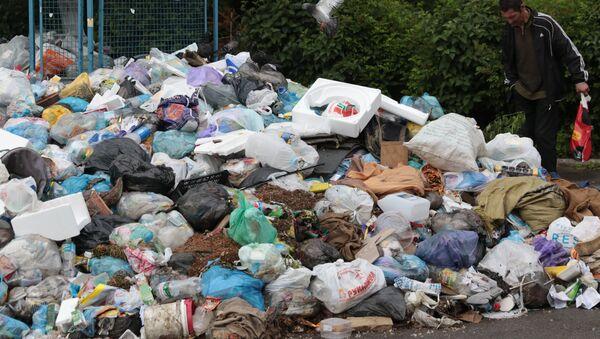 Проблема утилизации мусора - Sputnik Узбекистан