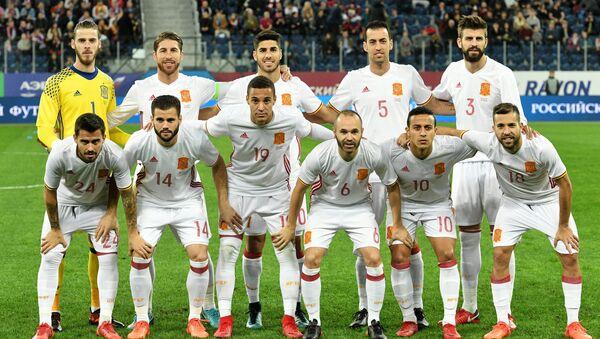 Сборная Испании по футболу - Sputnik Узбекистан