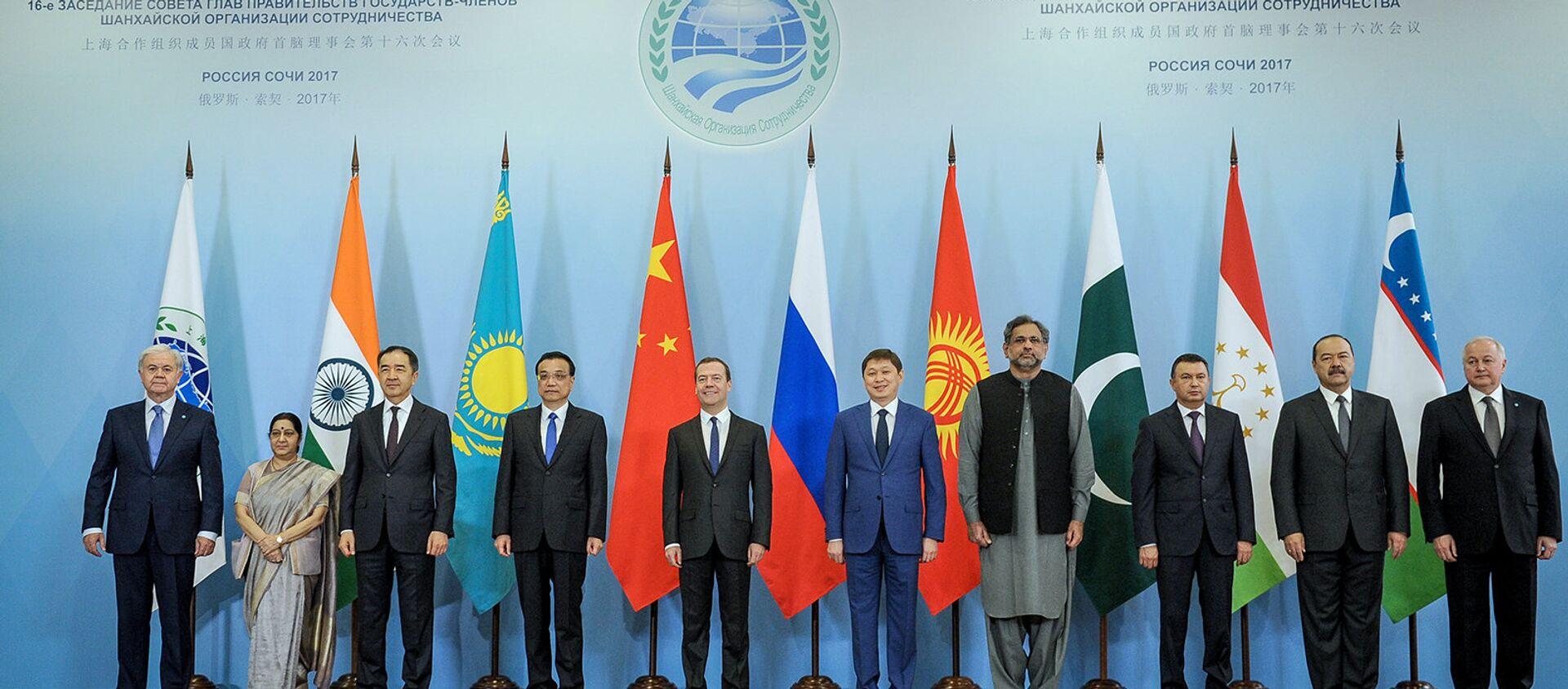 Заседание Совета глав ШОС - Sputnik Узбекистан, 1920, 20.12.2017