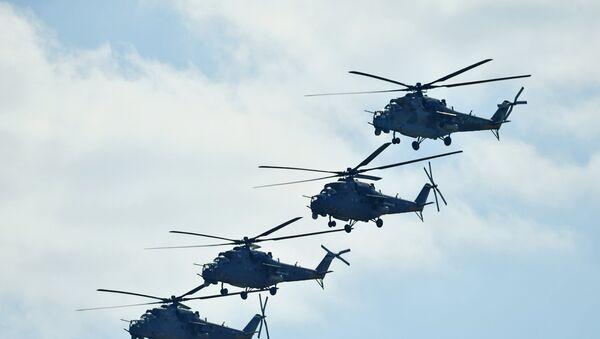Ударные вертолеты Ми-35 - Sputnik Узбекистан
