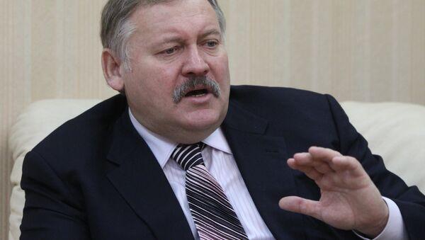 Pervыy zampredsedatel komiteta po delam SNG Konstantin Zatulin - Sputnik Oʻzbekiston