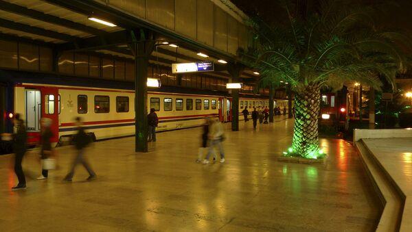 Железнодорожный вокзал в Анкаре - Sputnik Узбекистан