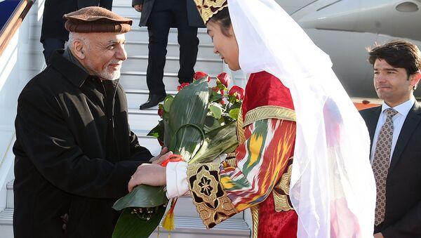 Президент Исламской Республики Афганистан Мохаммад Ашраф Гани 6 декабря прибыл в Бухару - Sputnik Узбекистан