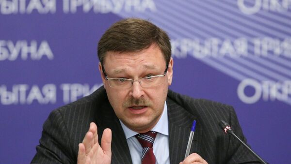 Константин Косачев. Архивное фото - Sputnik Узбекистан