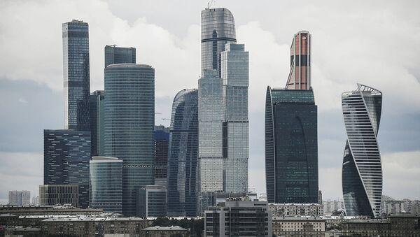 Международный деловой центр Москва-Сити - Sputnik Ўзбекистон