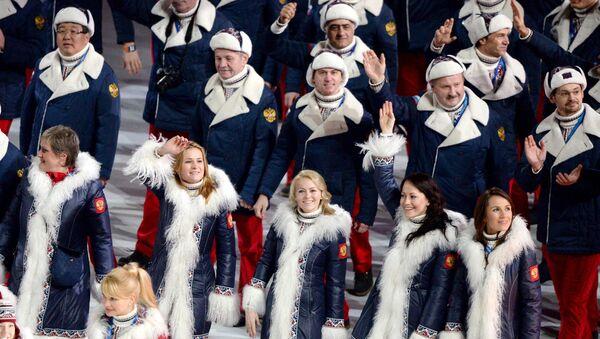 Церемония открытия XXII зимних Олимпийских игр - Sputnik Узбекистан