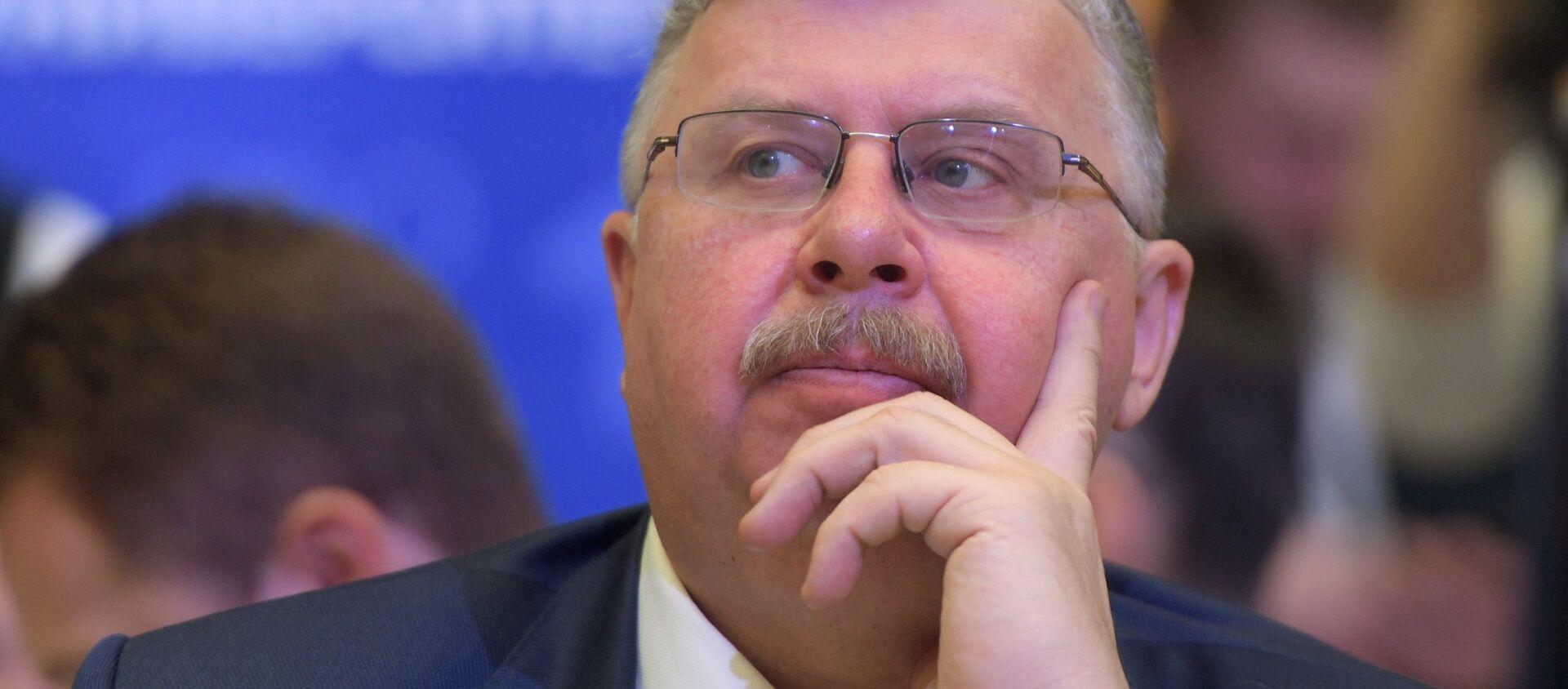 Председатель правления Евразийского банка развития Андрей Бельянинов, архивное фото - Sputnik Узбекистан, 1920, 12.03.2020
