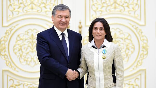 7 декабря 2017 года в Ташкенте при участии Президента Республики Узбекистан Шавката Мирзиёева состоялось торжественное собрание, посвященное вручению высоких государственных наград - Sputnik Ўзбекистон