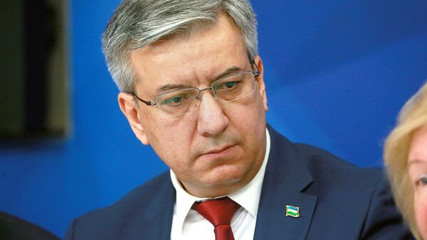 Posol Uzbekistana v Rossiyskoy Federatsii Baxrom Ashrafxanov - Sputnik Oʻzbekiston