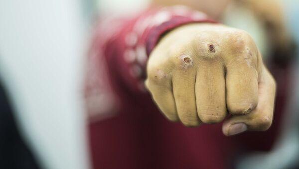 кулак, архивное фото - Sputnik Ўзбекистон