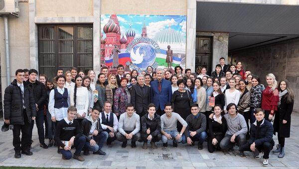 В Российском центре науки и культуры в Ташкенте 11 декабря состоялось заседание исторического клуба, посвященное Дню Конституции Российской Федерации - Sputnik Узбекистан
