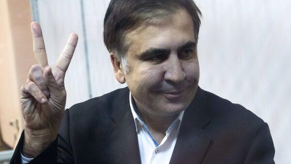 Суд по избранию меры пресечения для М. Саакашвили в Киеве - Sputnik Ўзбекистон