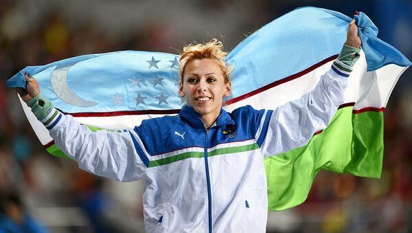 Одна из самых известных спортсменок из Узбекистана, легкоатлет Надия Дусанова - Sputnik Ўзбекистон