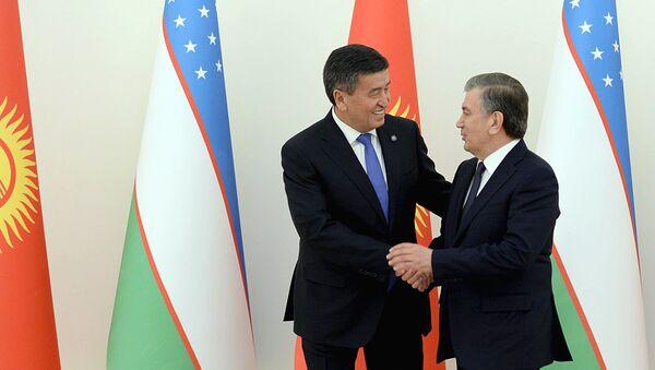 Визит президента Кыргызстана Сооронбая Жээнбекова в Узбекистан - Sputnik Ўзбекистон
