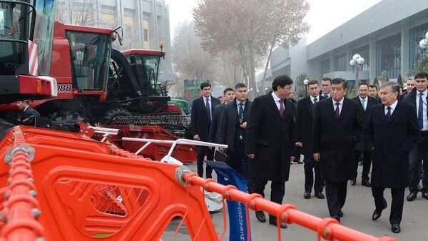 Vizit prezidenta Kыrgыzstana Sooronbaya Jeenbekova v Uzbekistan - Sputnik Oʻzbekiston