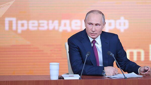 LIVE: Bolshaya press-konferentsiya Vladimira Putina 2017 - Sputnik Oʻzbekiston